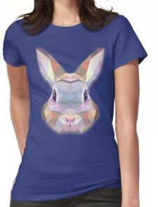 Cute Bunny  Womens Fitted T-Shirt