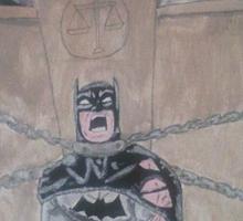 Guilty Batman Sticker