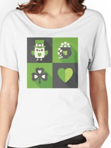 Irish Eyes Are Smiling Women's Relaxed Fit T-Shirt