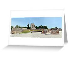 severin medieval fortress Greeting Card