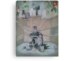 Guilty Batman Canvas Print