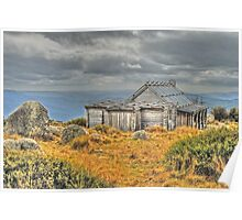 Craig's Hut in HDR Poster