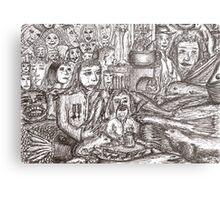 Dreams encroaching on reality Metal Print