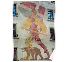Bern Fresco - Duke Of Zaehringen - Switzerland Poster