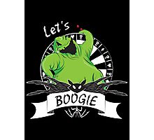 Oogie Boogie - Let's Boogie Photographic Print