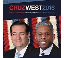 Cruz West 2016 Photographic Print