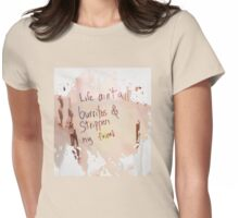 Burritos & Strippers  Womens Fitted T-Shirt