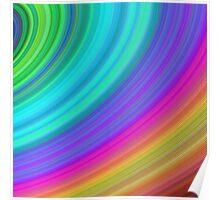 Rainbow sky Poster