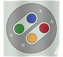 Controller - Super Nintendo Poster