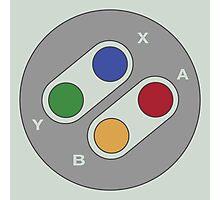 Controller - Super Nintendo Photographic Print