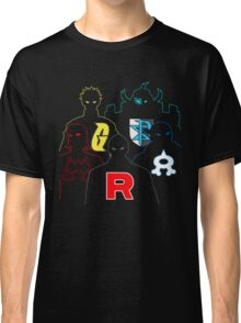 Pokemon Villian Leaders Classic T-Shirt