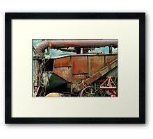Hay Roller   ^ Framed Print