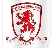 middlesbrough fc Poster