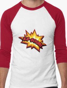 KA-BOOM Men's Baseball ¾ T-Shirt