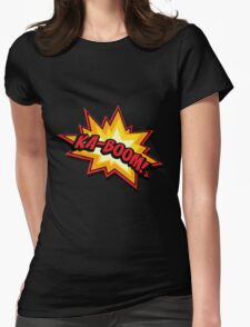 KA-BOOM Womens Fitted T-Shirt
