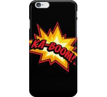 KA-BOOM iPhone Case/Skin