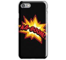T-shirt KA-BOOM iPhone Case/Skin