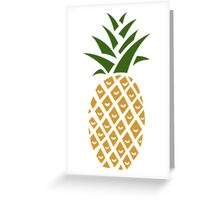 Pineapple (one) Greeting Card