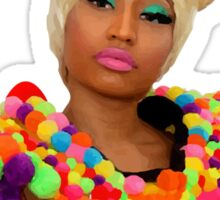 Nicki color Sticker