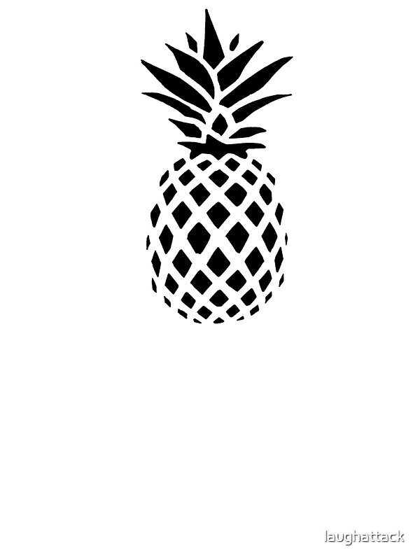 """Pineapple Silhouette "" Stickers by laughattack 