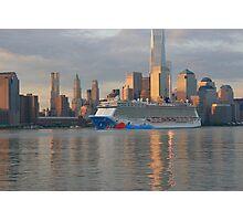 The Cruise Ship Norwegian Breakaway Photographic Print