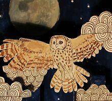 Owl Phone Case by rosie-art