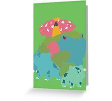 Bulbasaur Evolution Greeting Card