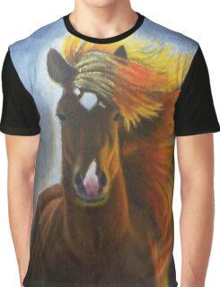 Caballo de Oro Graphic T-Shirt