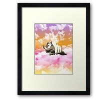 Appa in the Sunset Framed Print
