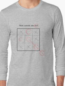 Think Outside the box Long Sleeve T-Shirt