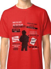 Lui Calibre Quotes Classic T-Shirt