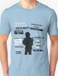 Lui Calibre Quotes Unisex T-Shirt