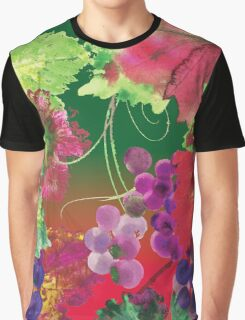 vines and grapes Graphic T-Shirt