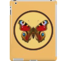 Admiral Butterfly - Cross Stitch style iPad Case/Skin