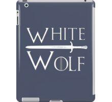 White Wolf iPad Case/Skin