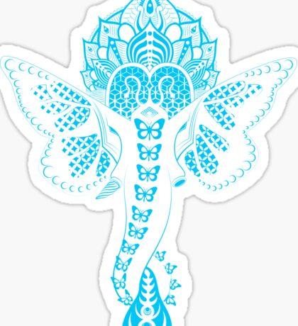 Bass Ganesh Sticker