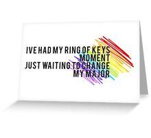 Fun Home - I've Had my Ring... Greeting Card