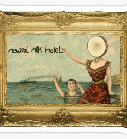 nuetral milk hotel  Sticker