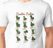 Zombie Zodiac Unisex T-Shirt