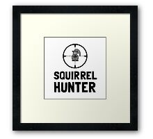 Squirrel Hunter Framed Print