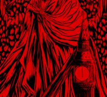 Lucifer over London Sticker