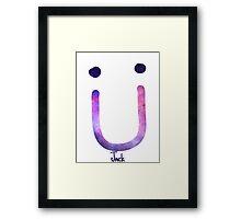 Jack U Framed Print