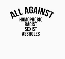 ALL AGAINST (balck) Unisex T-Shirt
