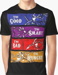 Ninja - Love Ninja Turtles Graphic T-Shirt