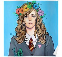 Flower Crown Poster
