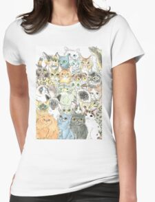 Cat Breeds Womens Fitted T-Shirt