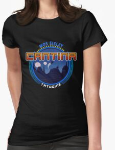 Mos Eisley Cantina Tatooine 2 Womens Fitted T-Shirt