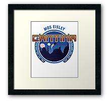 Mos Eisley Cantina Tatooine 2 Framed Print