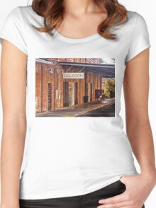 Old Mill Building - Napa, California Women's Fitted Scoop T-Shirt