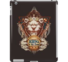 King of the Game iPad Case/Skin